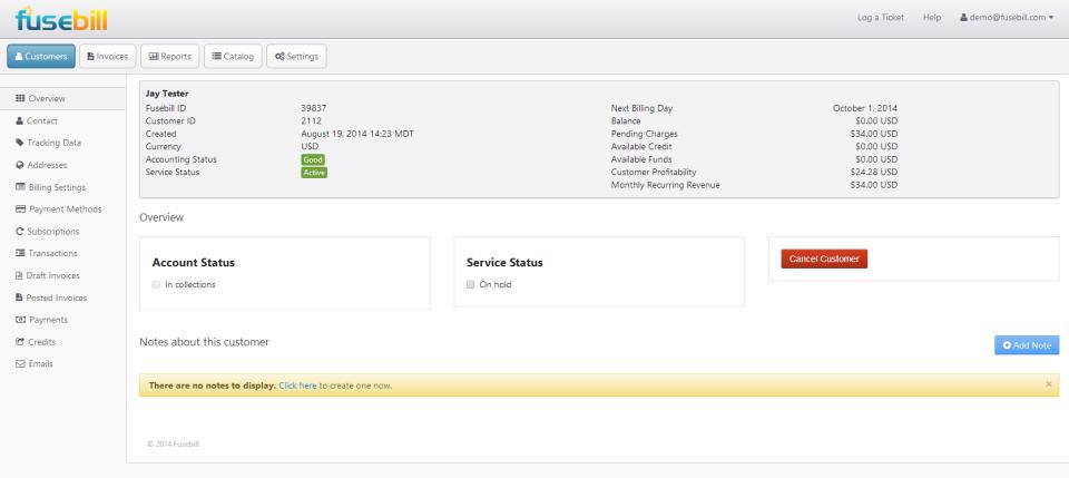 Fusebill Subscription Billing-screenshot-0