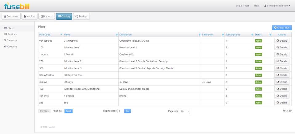 Fusebill Subscription Billing-screenshot-3