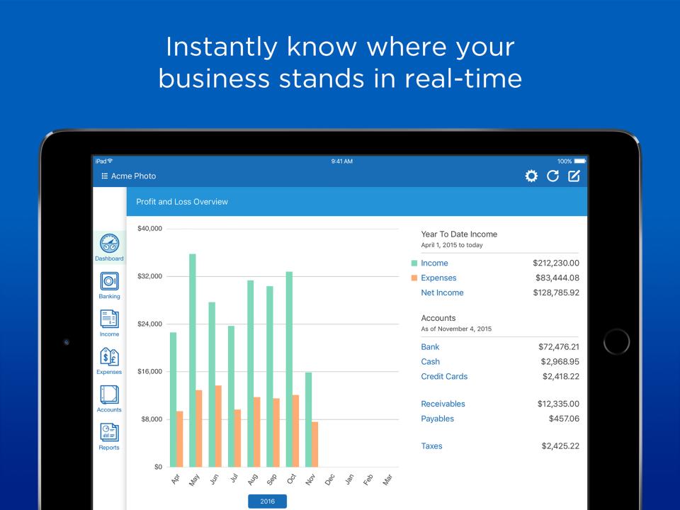 Kashoo Online Accounting-screenshot-0