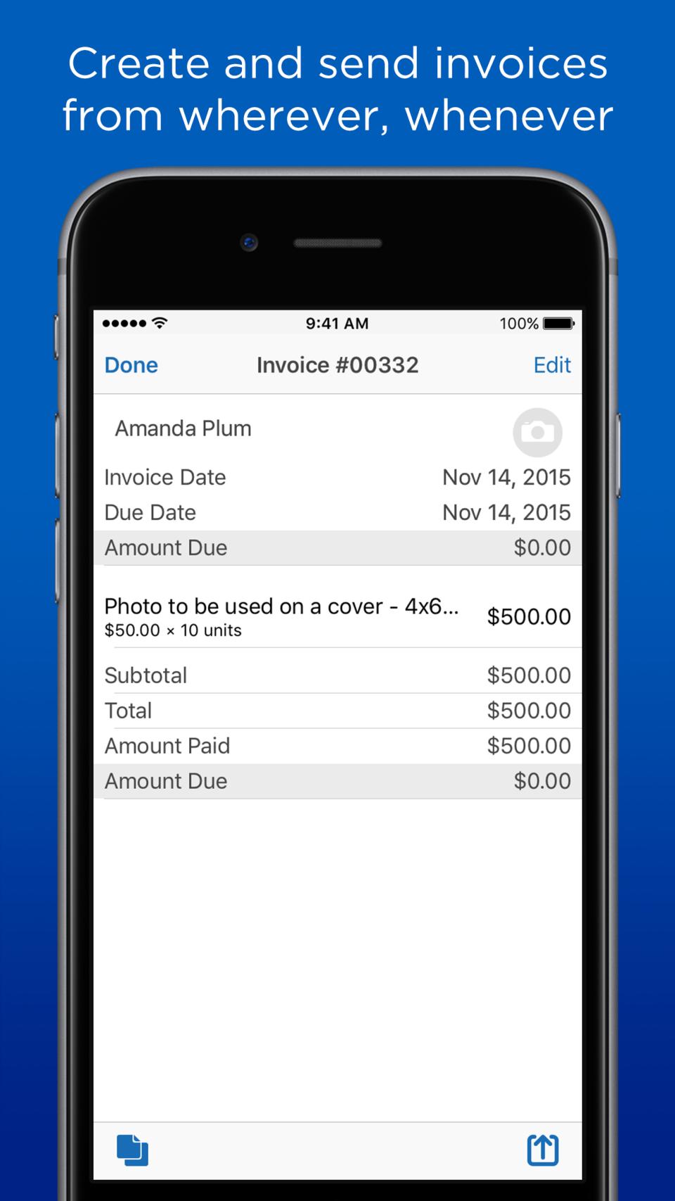 Kashoo Online Accounting-screenshot-1