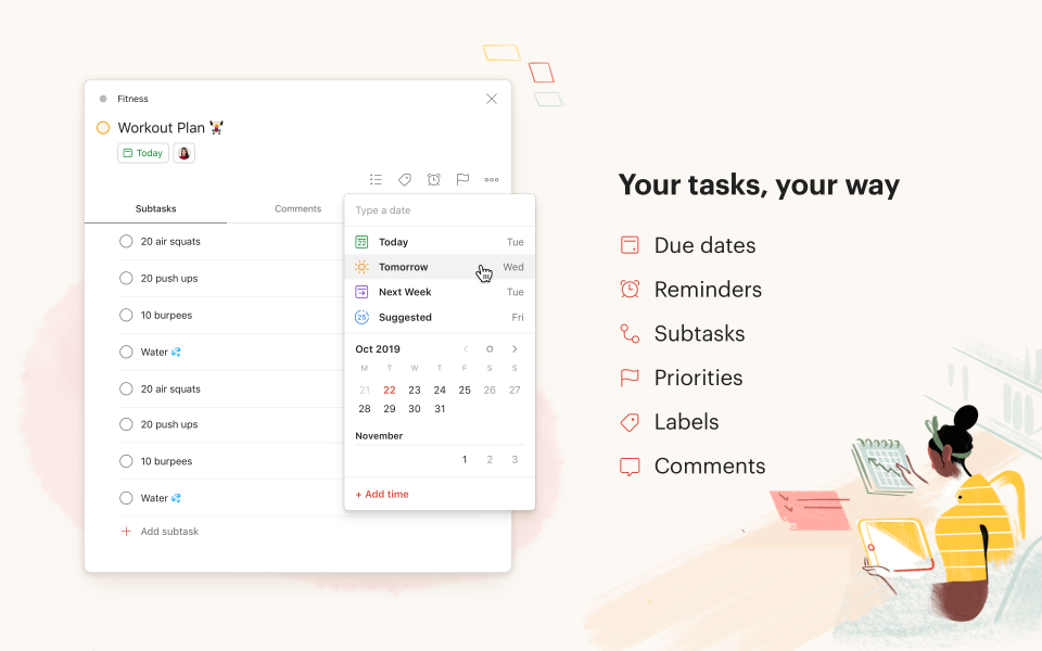 Todoist-Todoist task management
