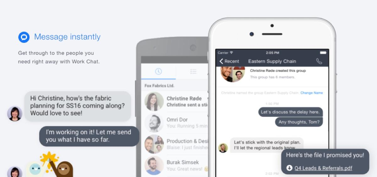 Facebook at Work: Messenger