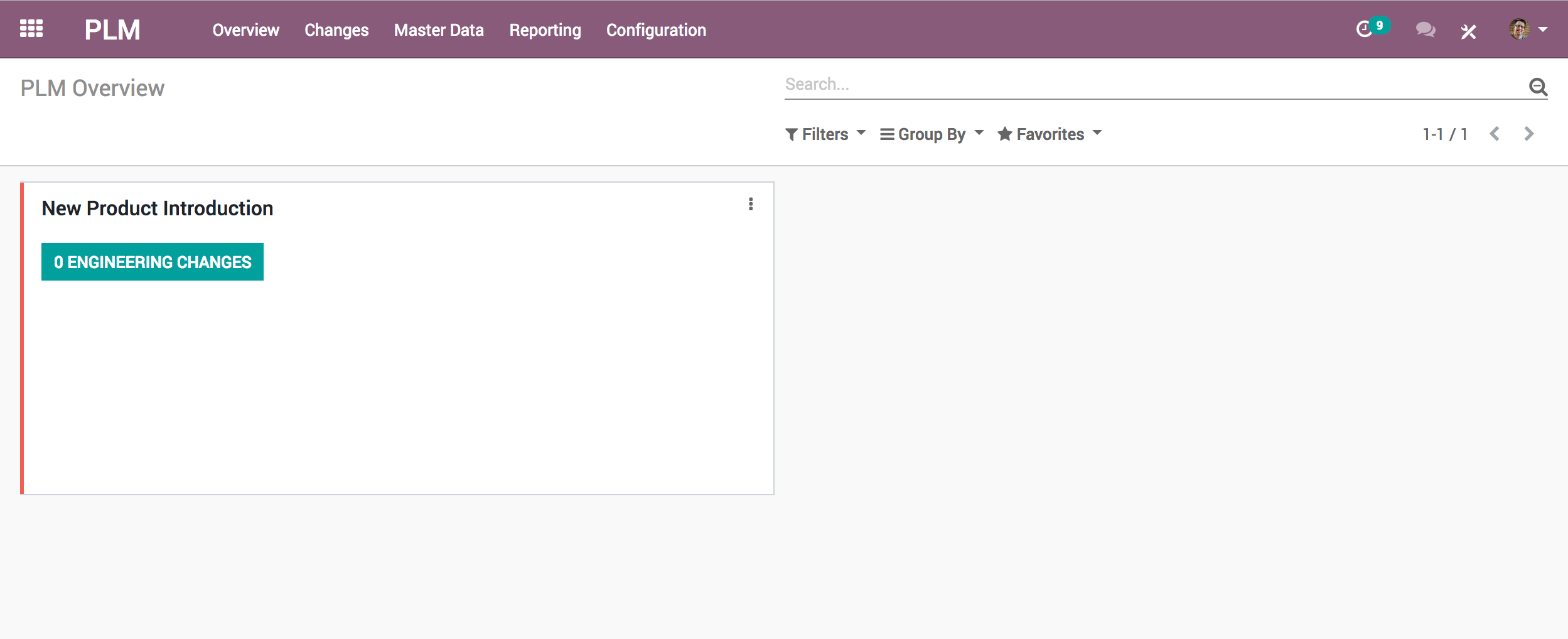 Odoo PLM Overview