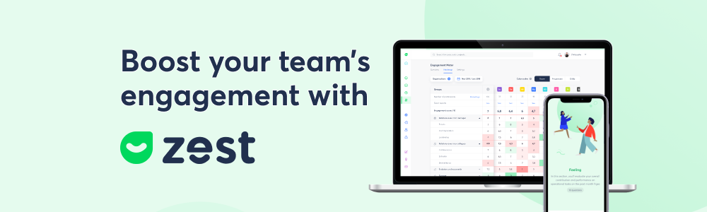 Review Zest: The SaaS solution to boost your team's engagement - appvizer