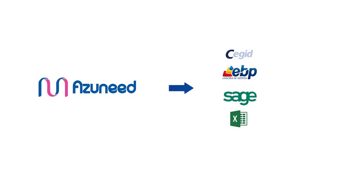 Payroll interface to all SAGE software, Cegid, EBP, QUADRA