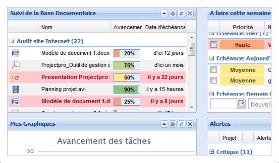 ProjectPro: Problem Management, Total Data reversibility, Dashboards