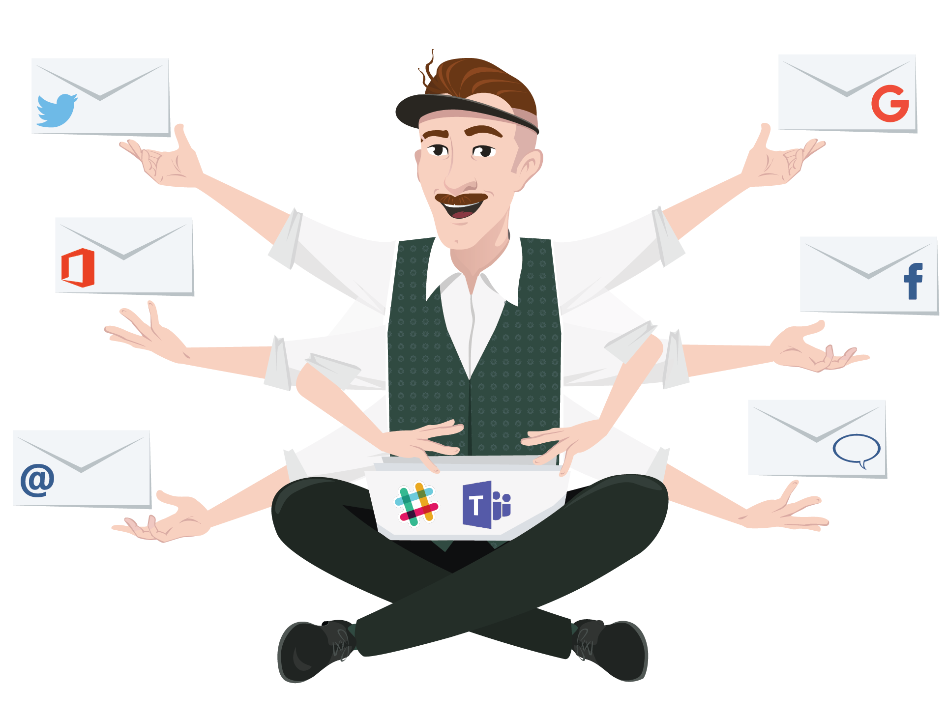 Review MailClark for Slack & MS Teams: Centralize emails, Twitter and Facebook in Slack or MS Teams - appvizer