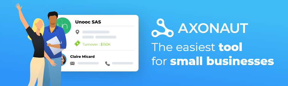 Review Axonaut CRM: The Best all-in-one solution for small businesses ! - Appvizer