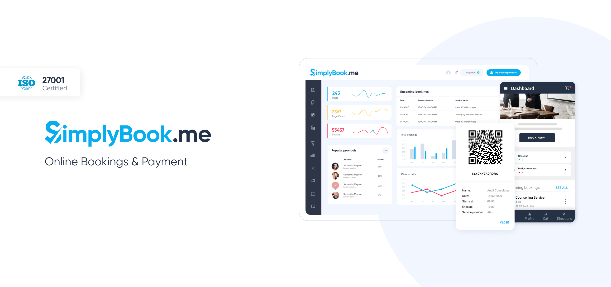 Review SimplyBook.me: Appointment Scheduling Software - appvizer