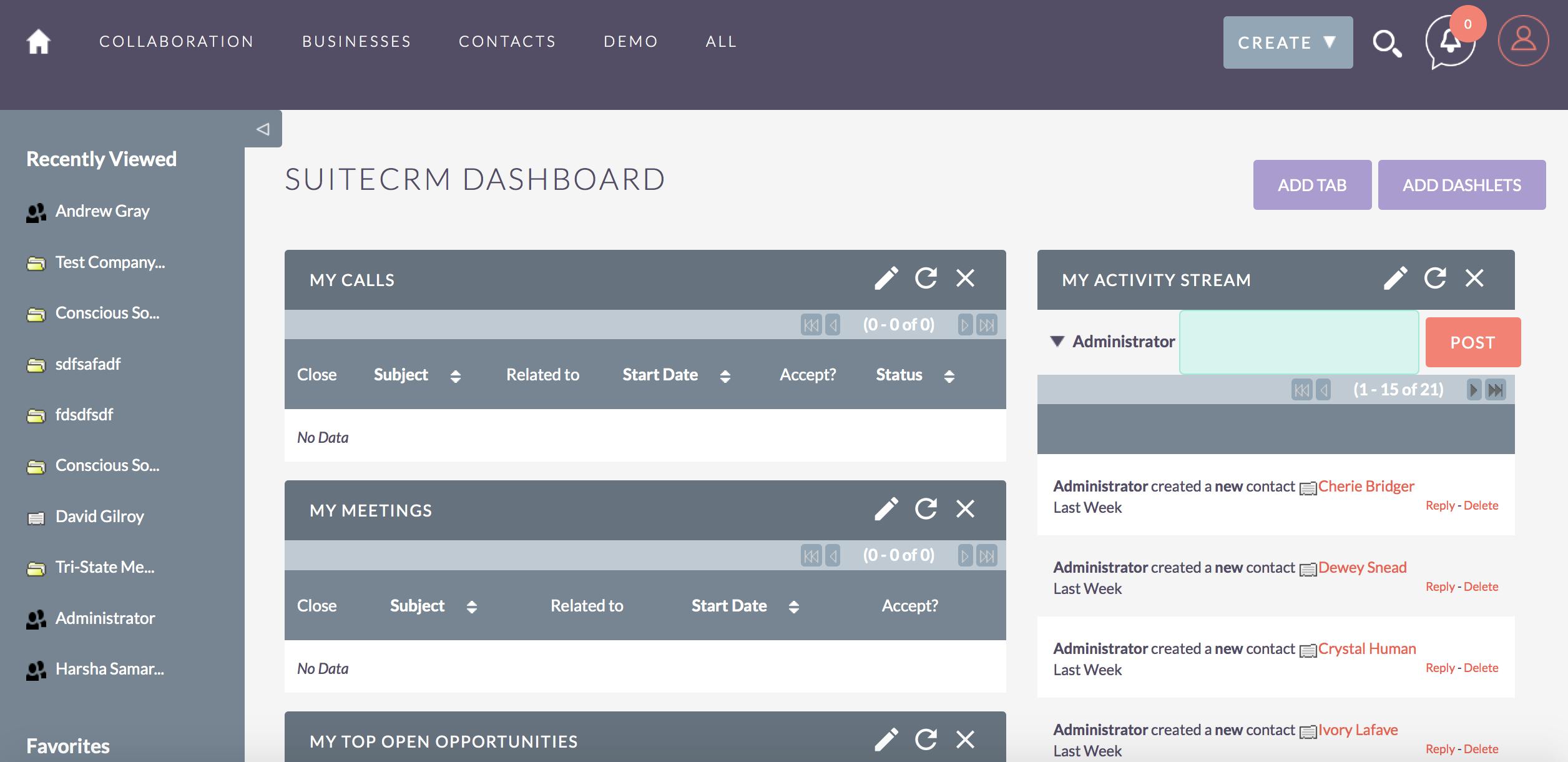 Review SuiteCRM: A modern open-source CRM software - Appvizer