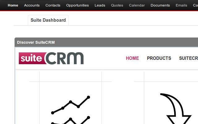 SuiteCRM-screenshot-0