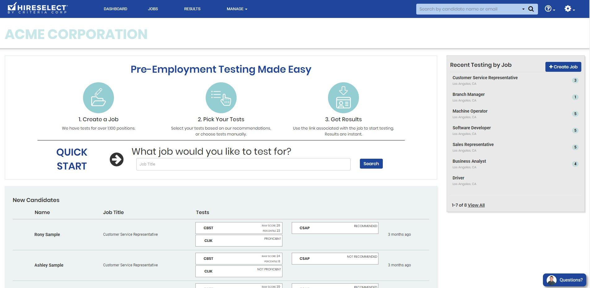 Review Wonscore from Wonderlic: Pre-employment Testing Software - appvizer
