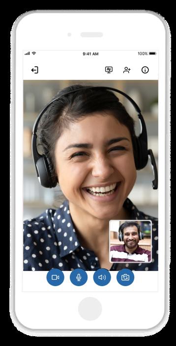 Zoho Meeting-Mobile
