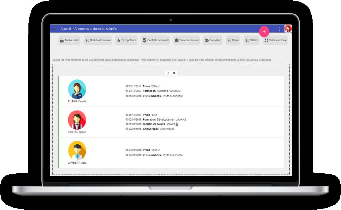 monitoring employee record