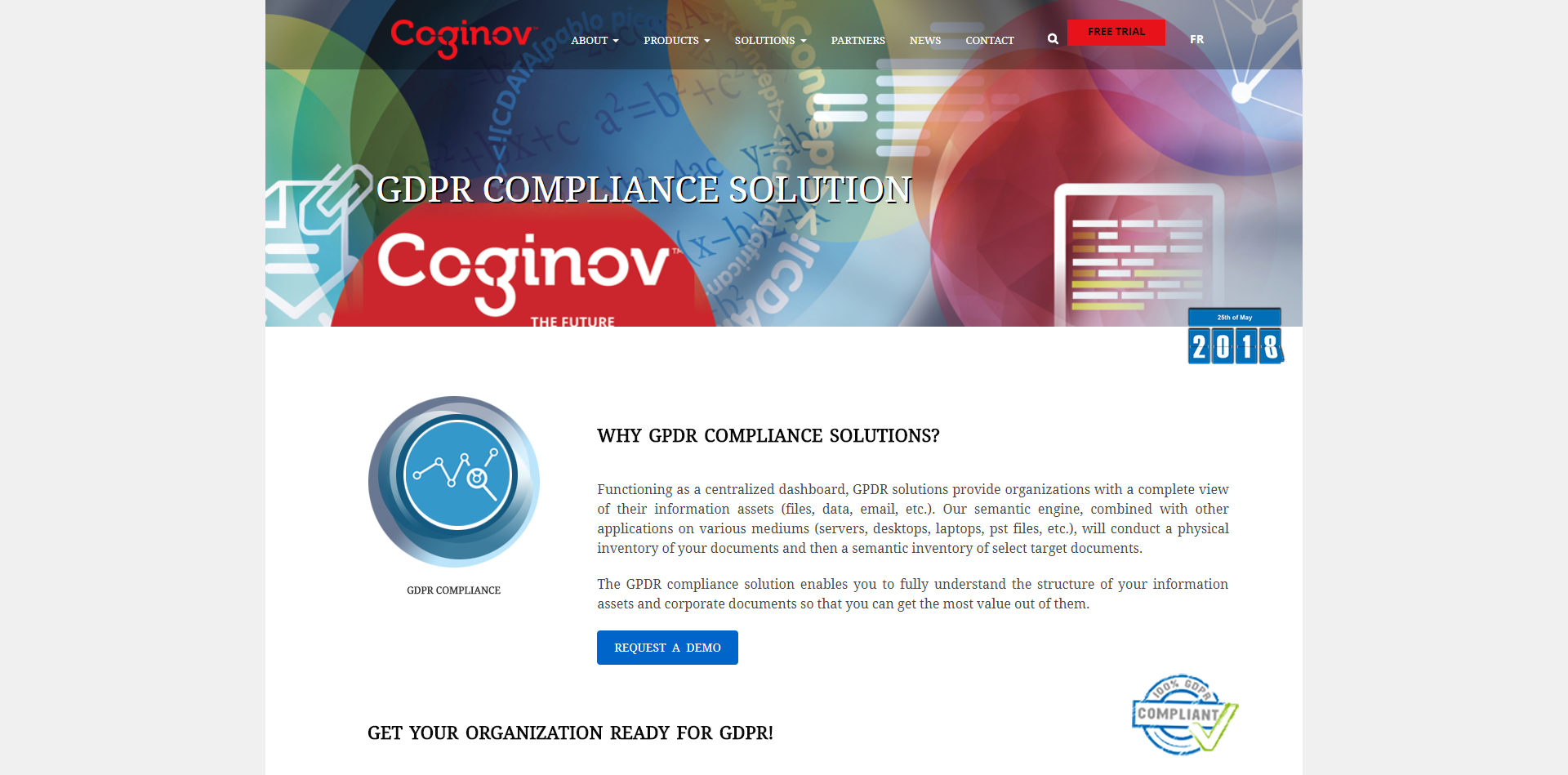 GDPR Compliance Solution page on our website for full audit RGPD.