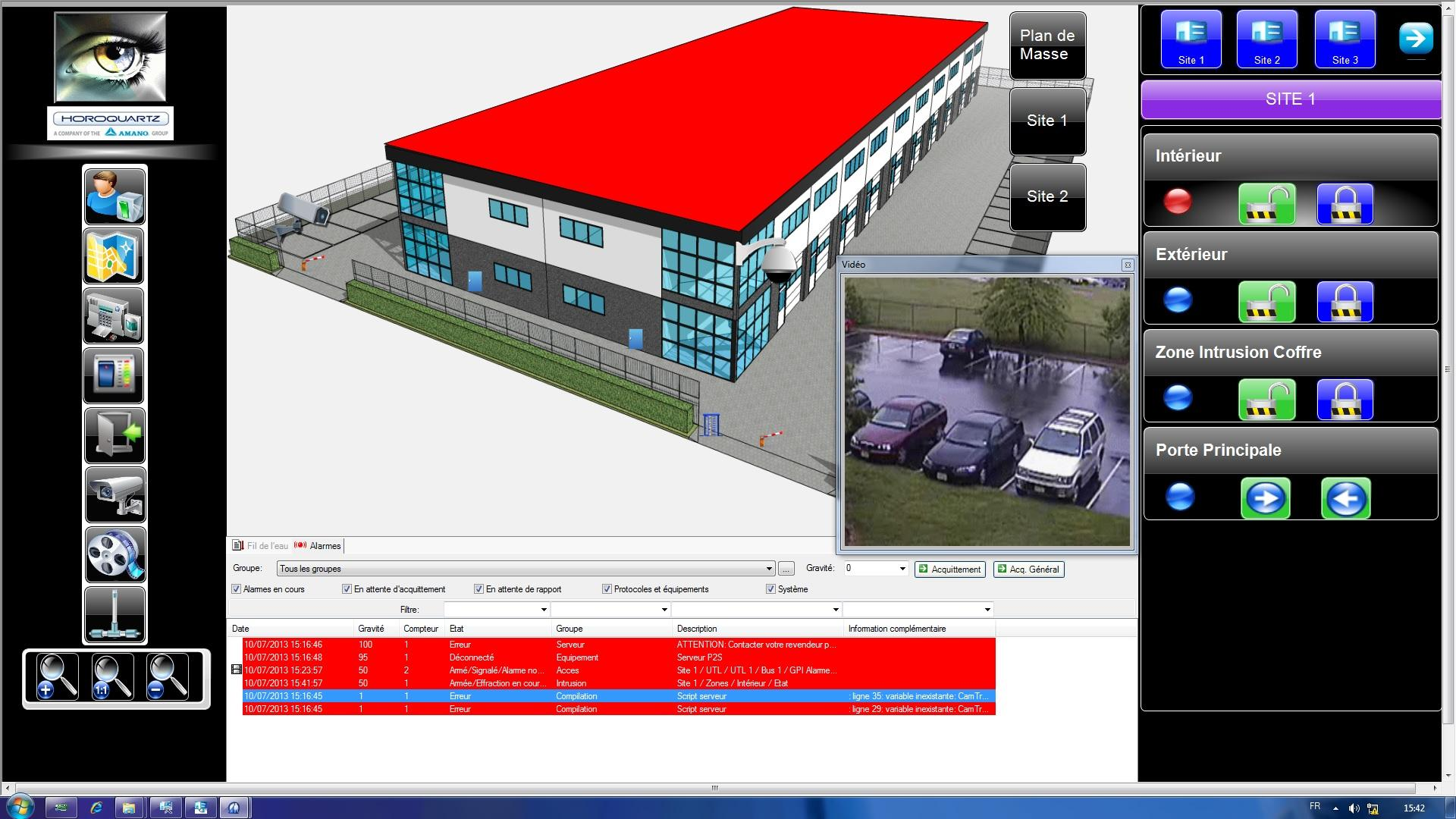 Protecsys 2 Suite-Supervision