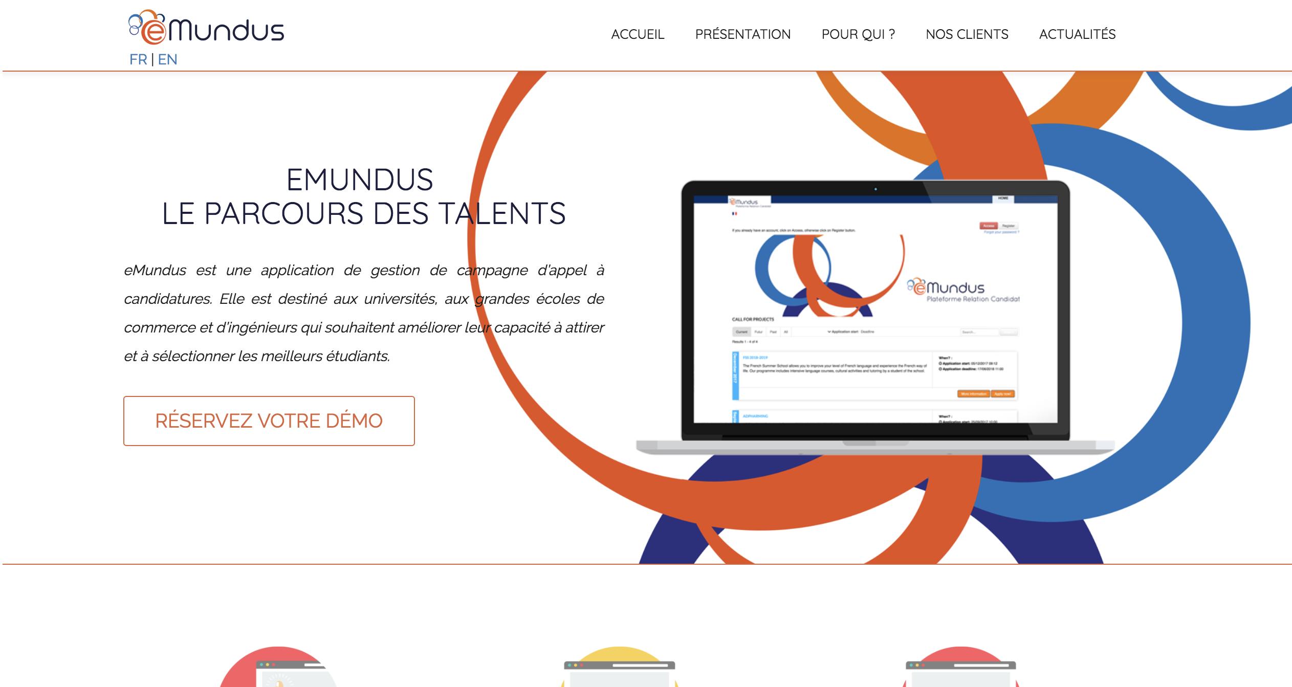 Review eMundus: Online candidacy management plateform - Appvizer