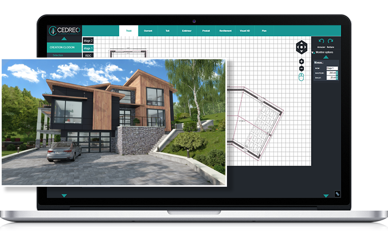 Visualize your project with 3D pictures in high definition
