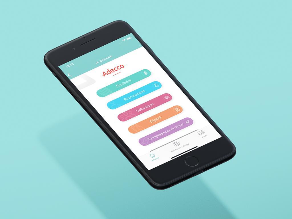 Adecco mobile app