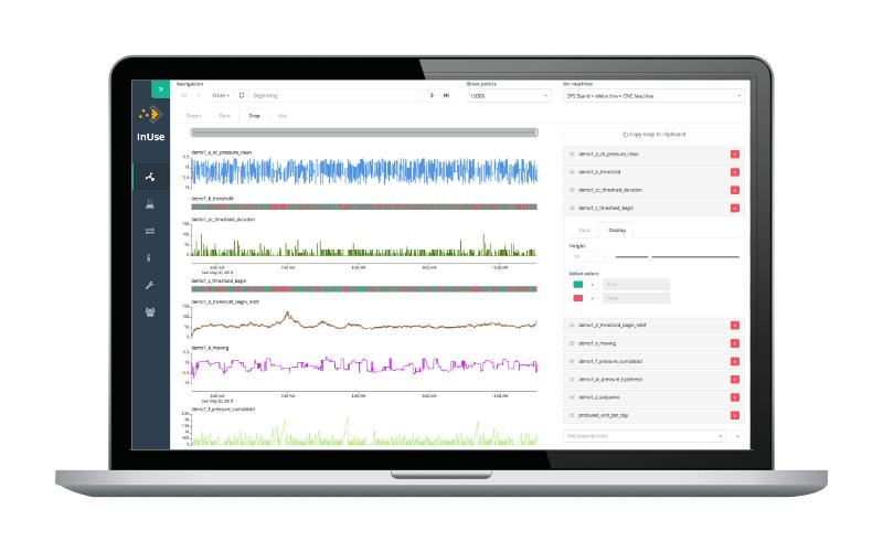 Visualize your time series of industrial data in the Studio