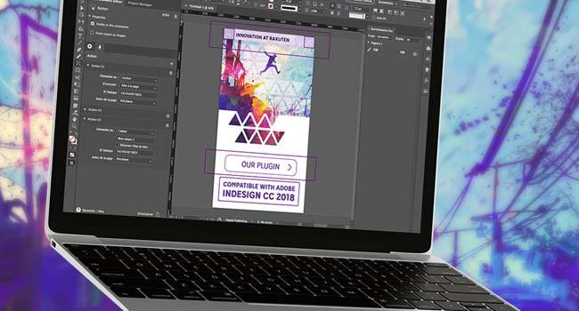 Use our advanced plugin for Adobe InDesign CC.