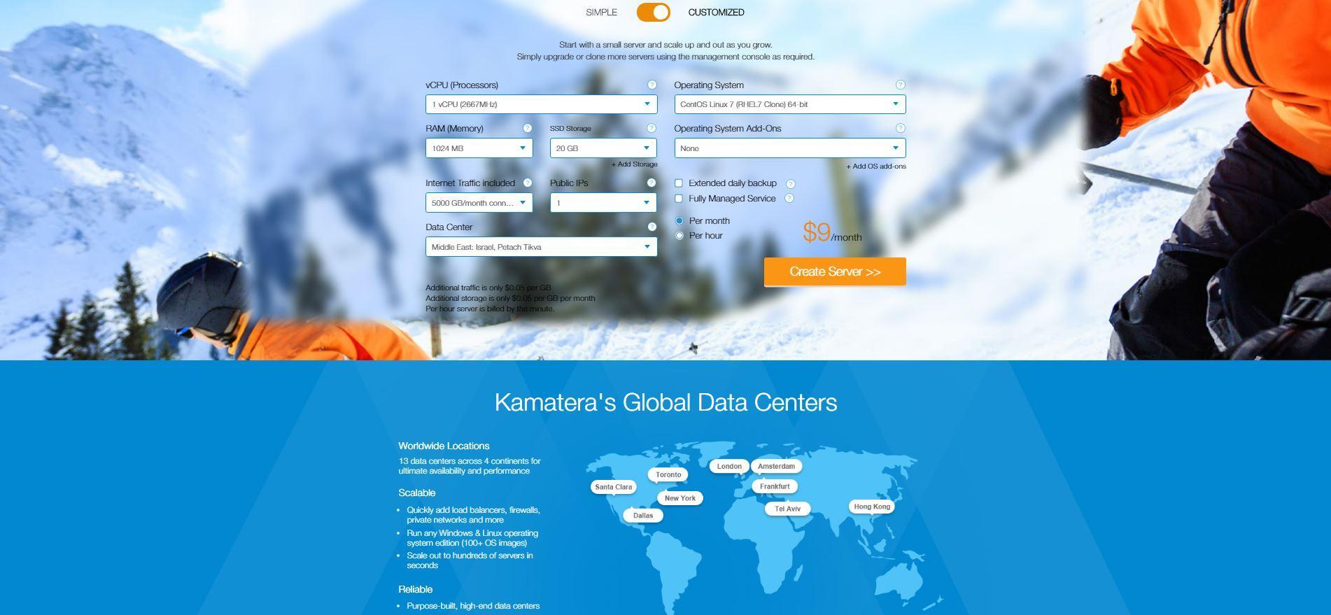 Review Kamatera: Cloud Services Provider - appvizer