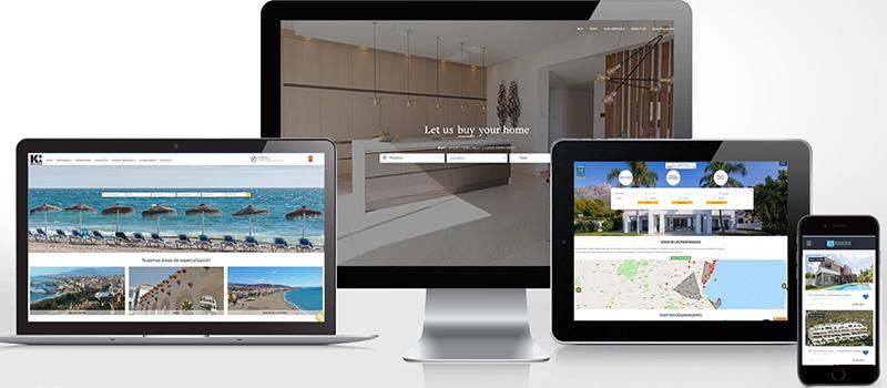 Páginas web a medida: hemos entregado +500 webs en tecnologías avanzadas ya.