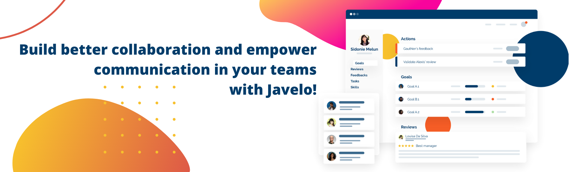 Review Javelo: Continuous performance management made easy! - Appvizer