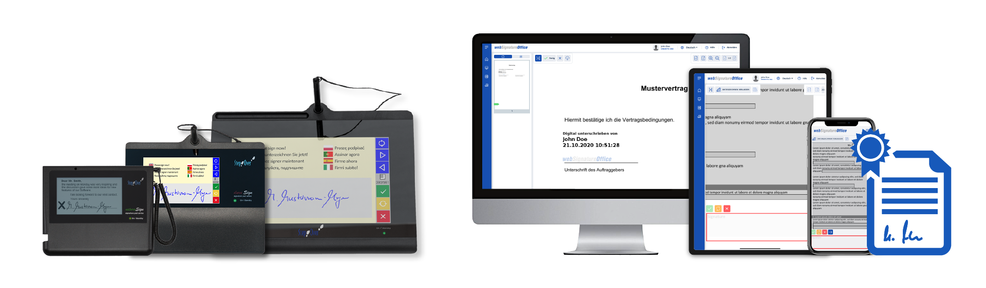 Review eSignatureOffice: Sign PDF documents electronically - appvizer