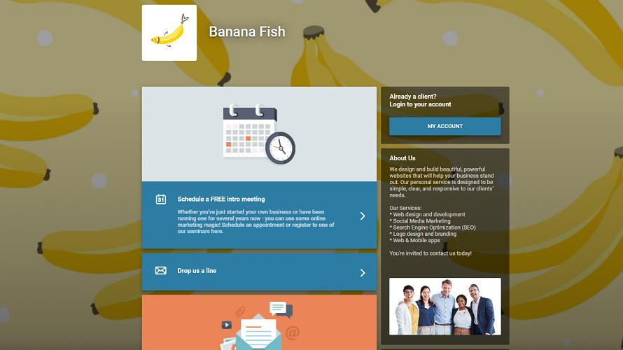 Customizable Client Portal