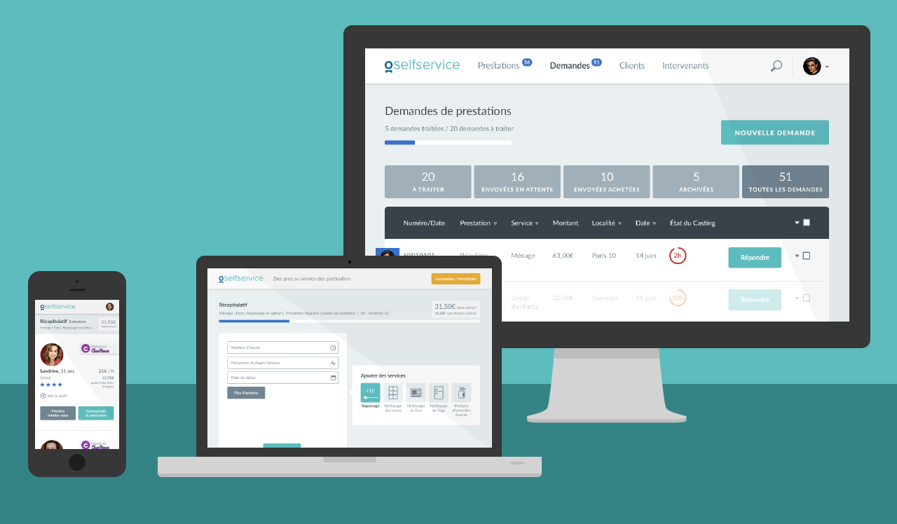 Review Ogustine Selfservice: The e-commerce solution dedicated to home service businesses - Appvizer