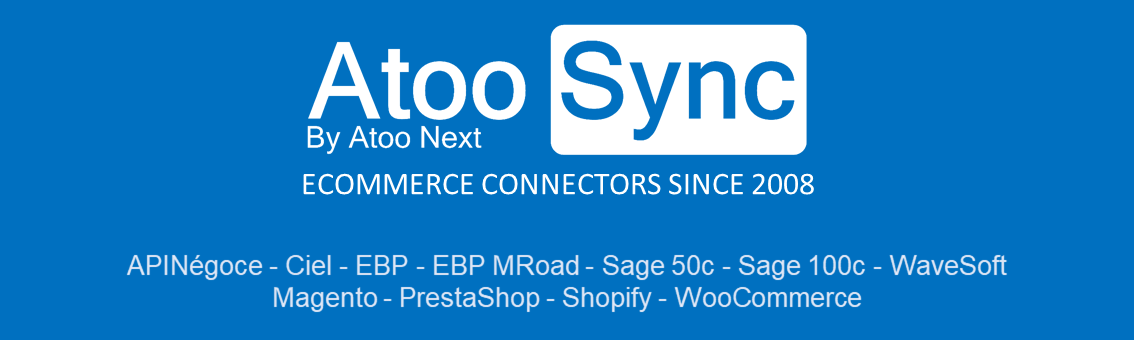 Review Atoo-Sync GesCom: Connect your webstore to your invoicing application - Appvizer