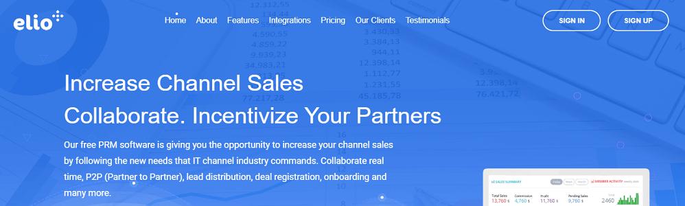 Review Elioplus PRM: Partner Relationship Management System - appvizer