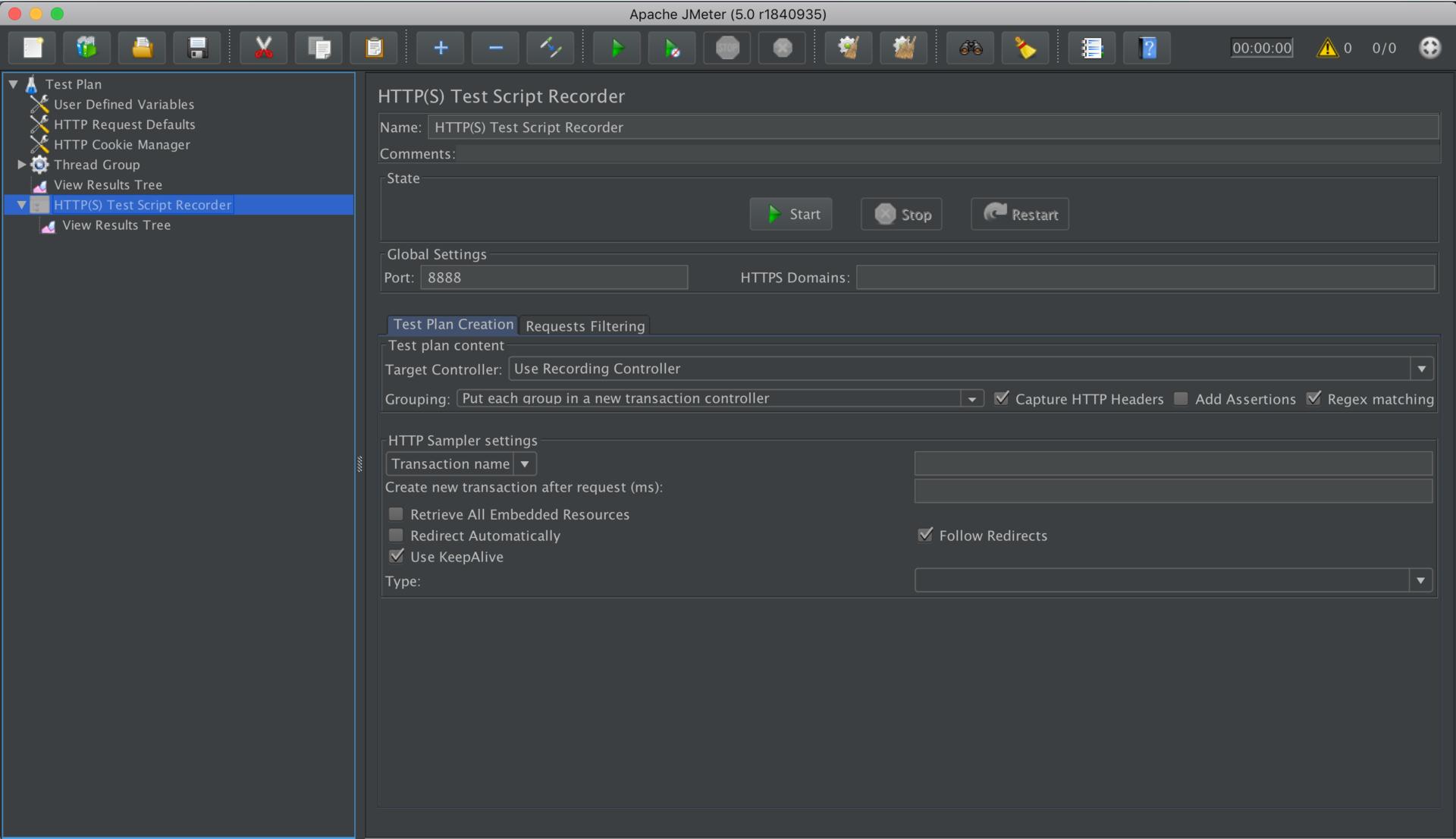 Apache Jmeter-Apache Dashboard