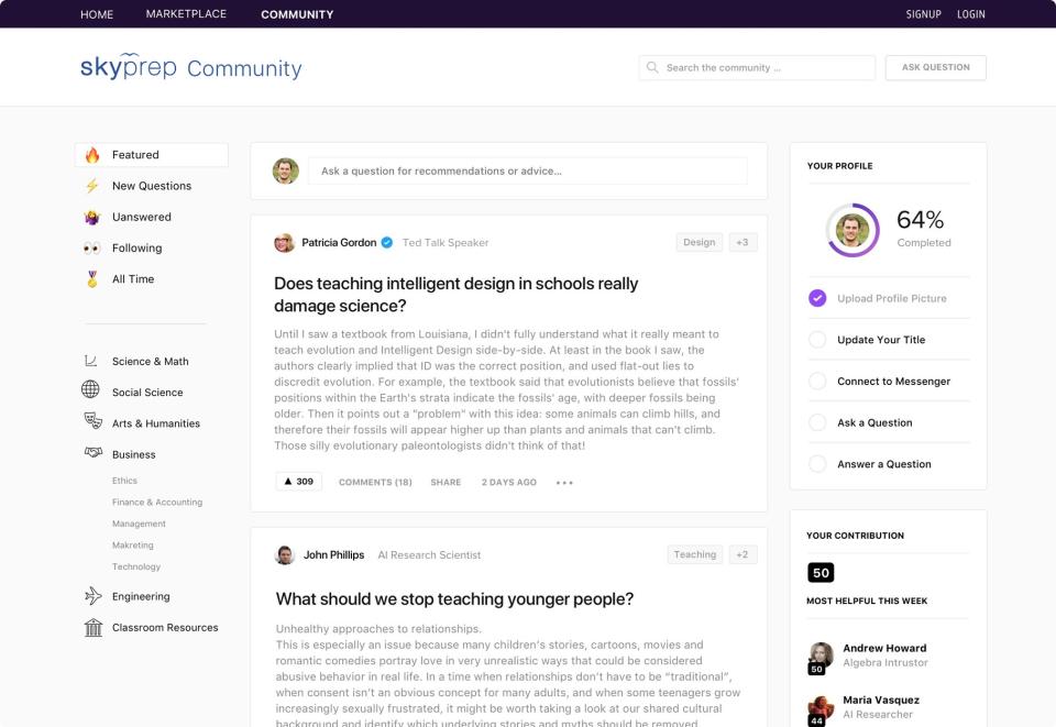 Sample community