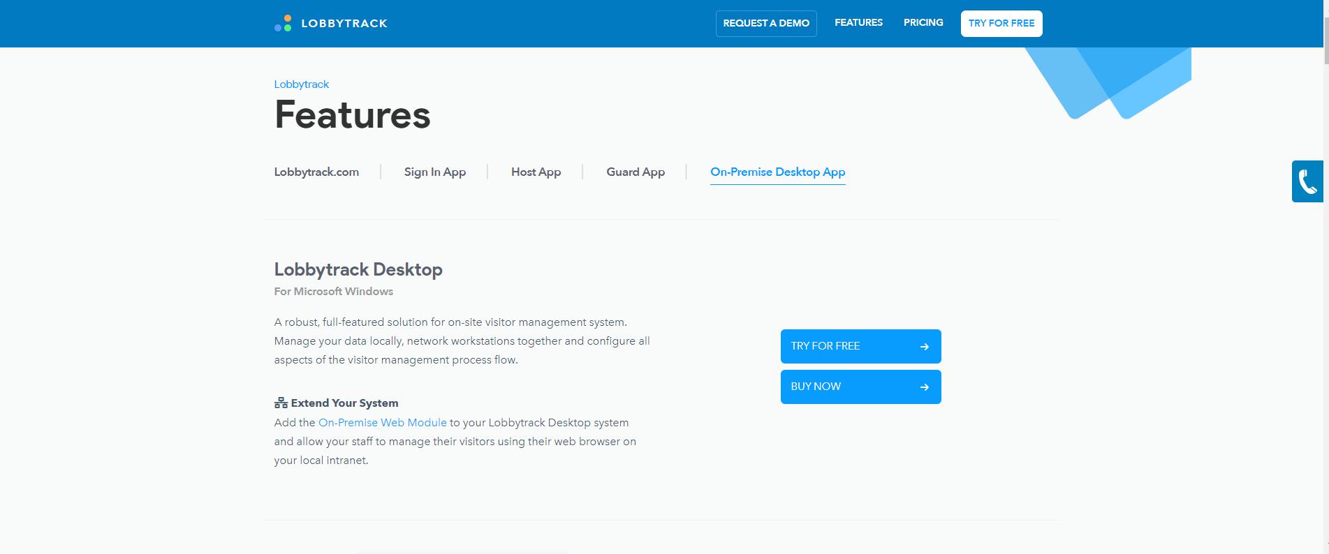 Lobbytrack-Lobbytrack_Desktop_Visitor_Management_Software_and_Systems