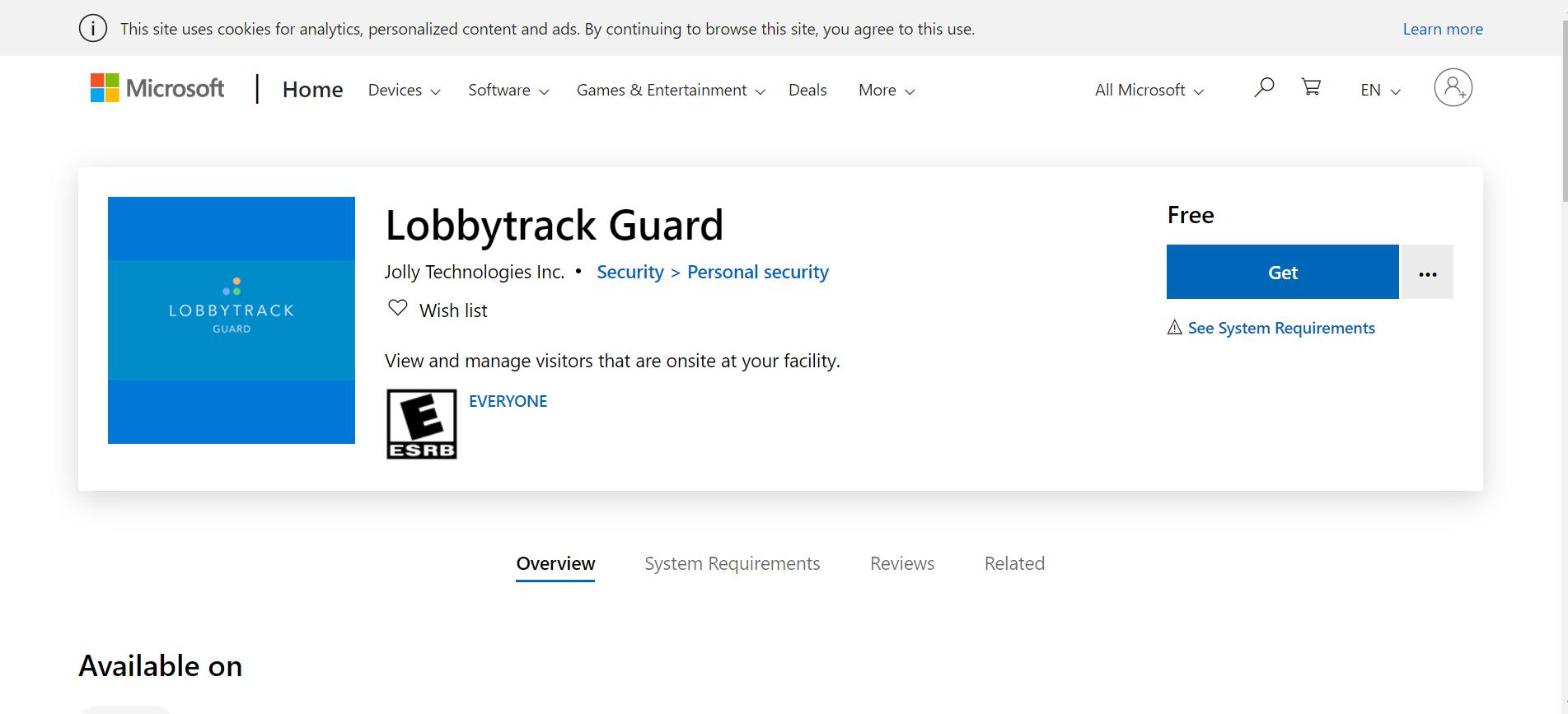 Lobbytrack-Get_Lobbytrack_Guard_Microsoft_Store