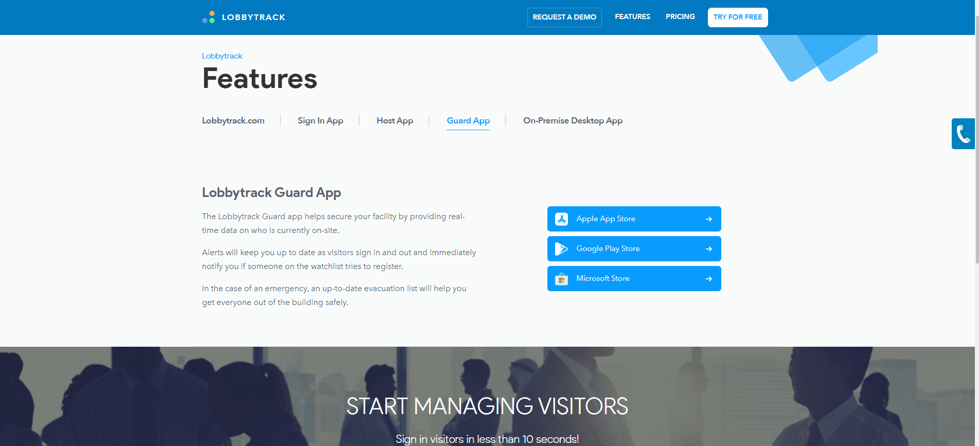 Lobbytrack-Lobbytrack_Guard_App_Visitor_Management_Alert_Security_And_Manage_Evacuation