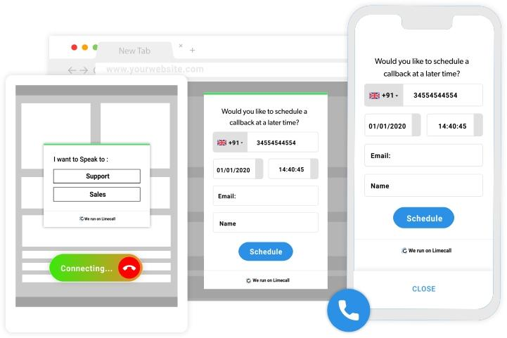 Review Limecall: Callback within 28 seconds to assist your visitors -  appvizer