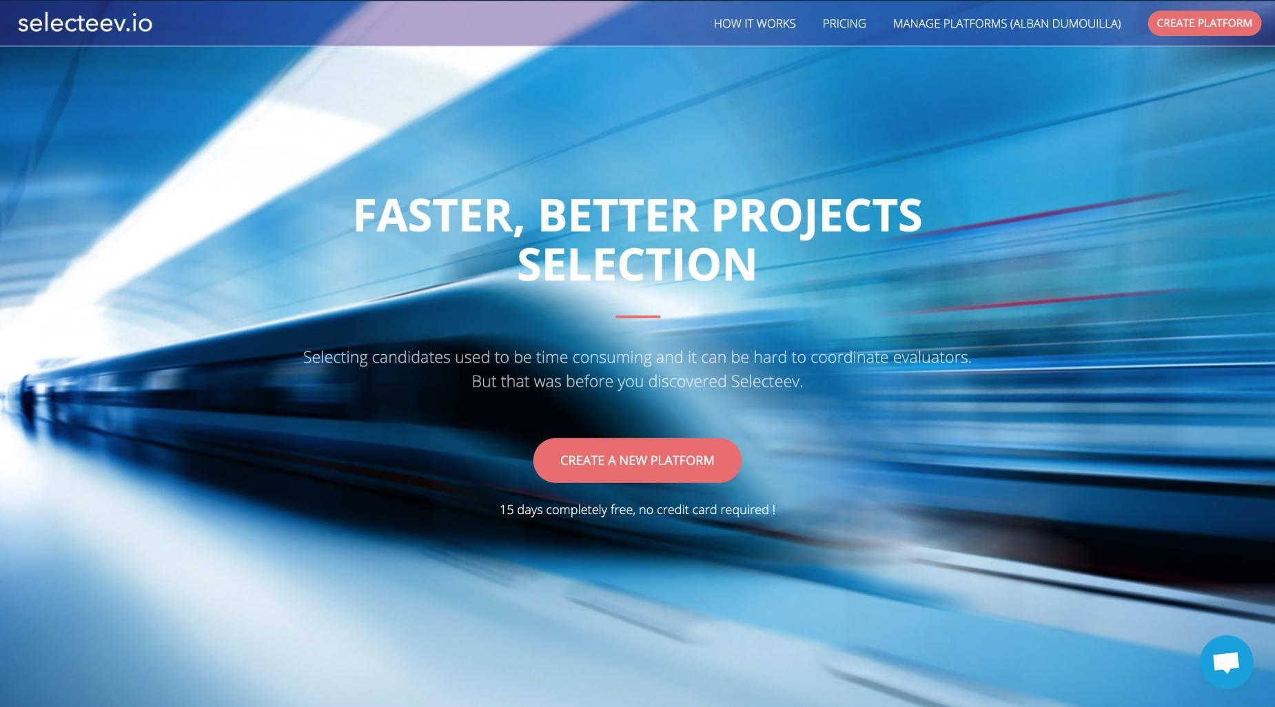 Review Selecteev: Efficient solution for selecting projects or candidates - Appvizer