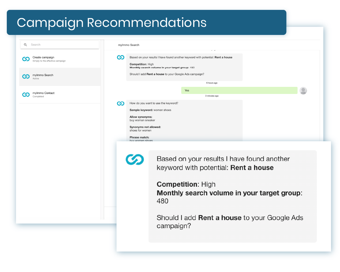 Campaign recommendations