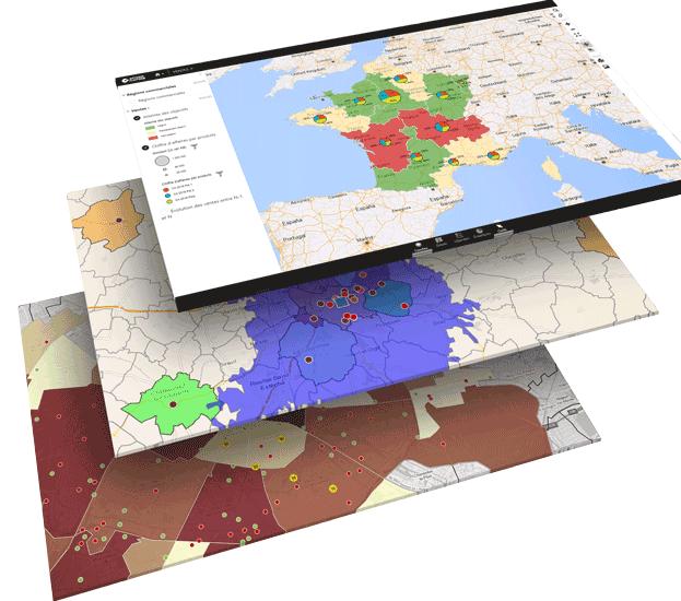 Multiple data visualisation