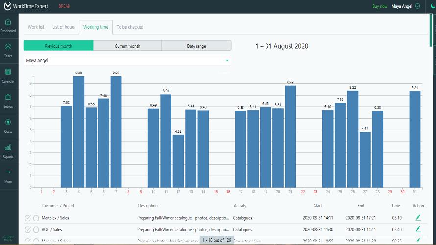 Worktime Expert-czas pracy wykres_str 7_890