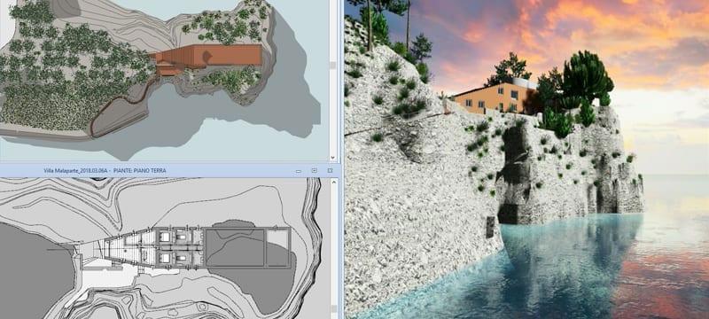 terrain modeling results