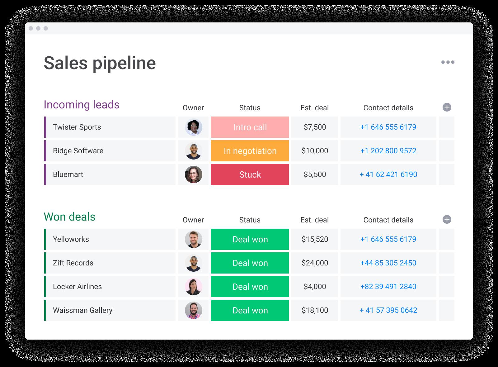 monday.com CRM-Simple board_CRM_Sales pipeline_2 (1)