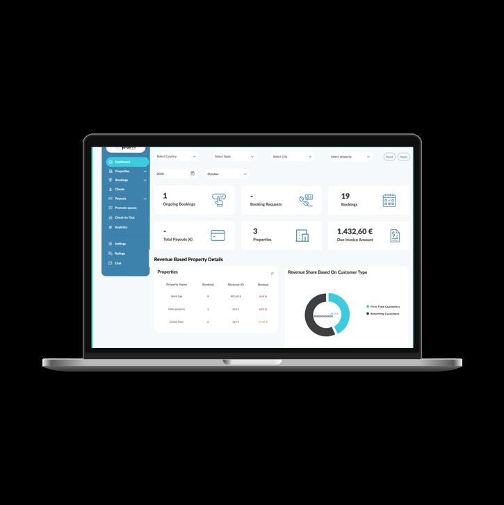 Dashboard - Web App