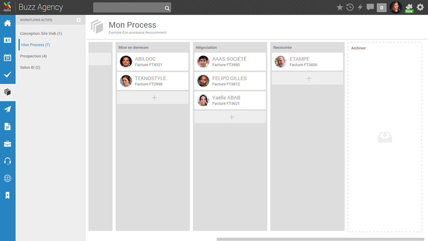 Nelis: Solution Management, Instant Messaging (IM), Tasks and Notes