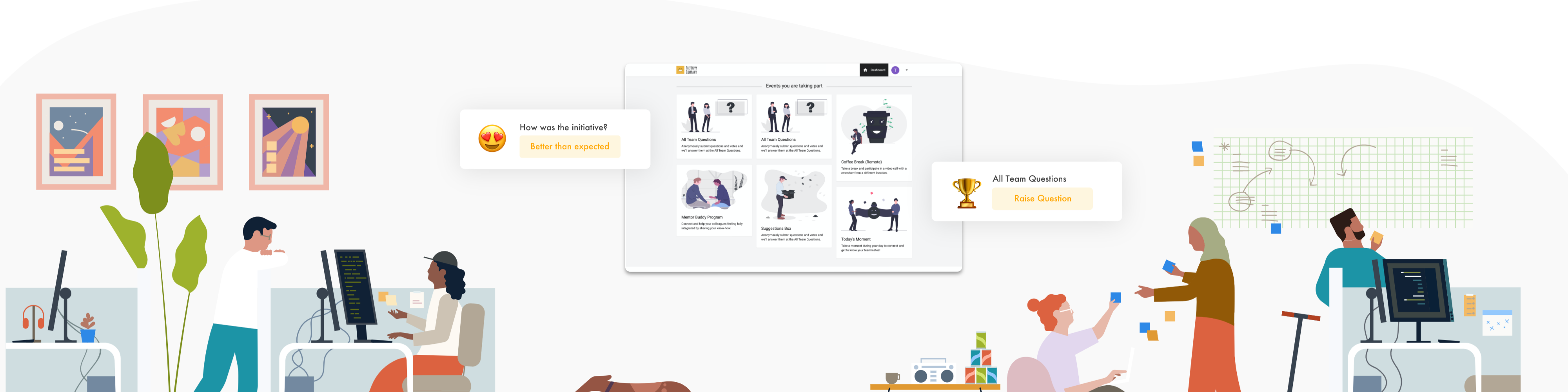 Review Wellbeing Warrior: Connect and engage employees - Appvizer