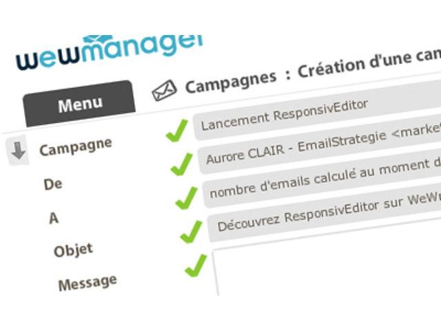 Review wewmanager: Email and SMS marketing + data intelligence - appvizer
