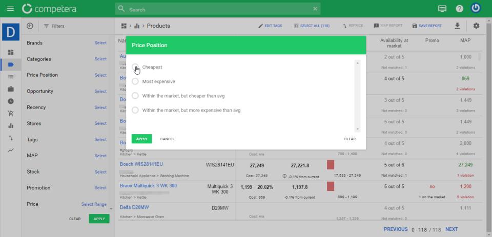 Competera Pricing Platform-screenshot-3